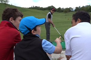 youngsters at molino del pero golf club