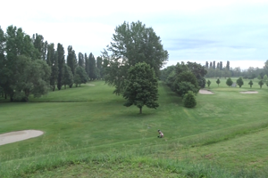 view over argenta golf club